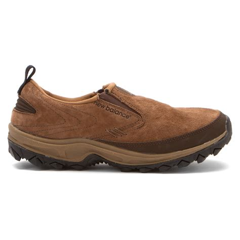new balance wwm756v2 country walking slip on in brown lyst