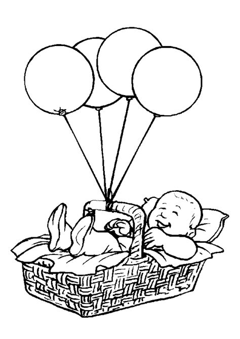 free coloring pages of baby clothes