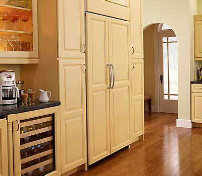 What Is A Panel Ready Refrigerator by 22 Cu Ft 35 Quot Panel Ready Freestanding Refrigerator