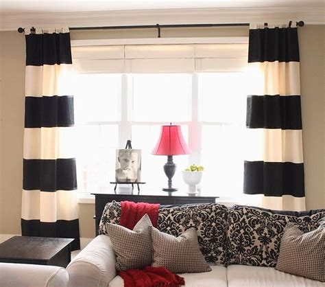 black and white striped bedroom curtains wide array in black and white curtains drapery room