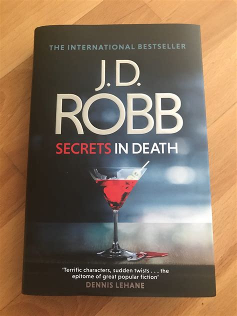 J D Robb In j d robb secrets in recommended reads 187 magazine
