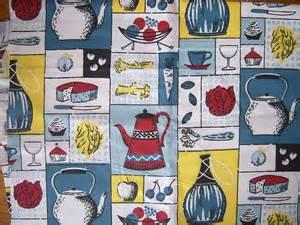 Vintage Kitchen Curtain Fabric Vintage Kitchen Fabric Sewing Kitchen Fabric Vintage Kitchen And Vintage