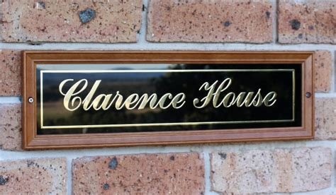 house plaques house signs house number signs plaques and plates custom house signs for your home