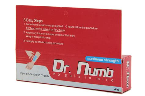 dr numb tattoo cream 30gr dr numb pain relief tattoo numbing cream permanent