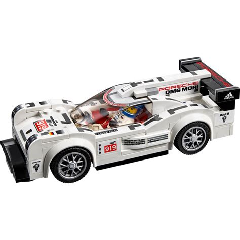 porsche lego set lego porsche 919 hybrid and 917k pit set 75876