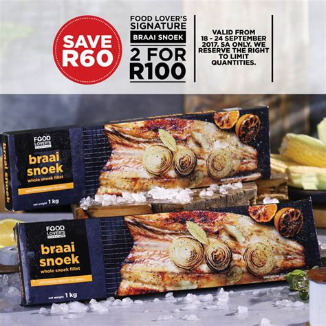 To Market Special Treats by Food Market Braai Day Specials 18 Sep 2017 25 Sep