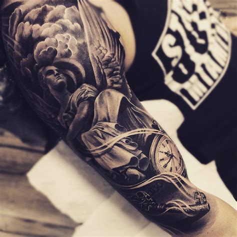 angel arm tattoos for men tattoos the world s best designs