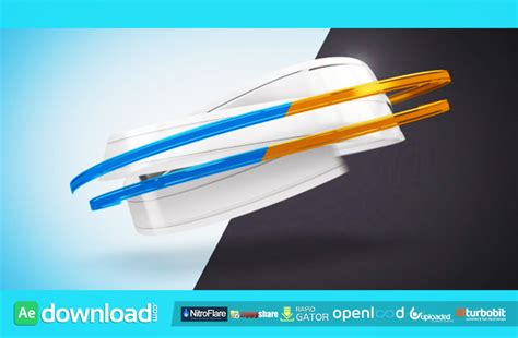 ribbon logo reveal ribbons logo reveal after effects project videohive
