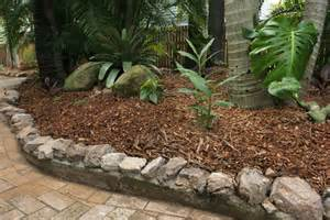Landscape Edging With Rocks Graceville Project 1 All You Can Eat Gardens