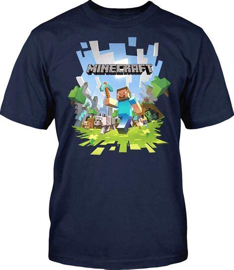 official minecraft t shirts mine craft tshirts