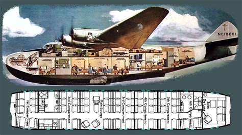 pan am flying boat pan am clipper interior specifications boeing 314a
