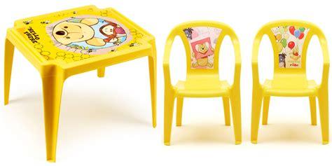 Table Winnie L Ourson Et Chaise by Salon Enfant Winnie Avec 1 Table Et 2 Chaises Oogarden