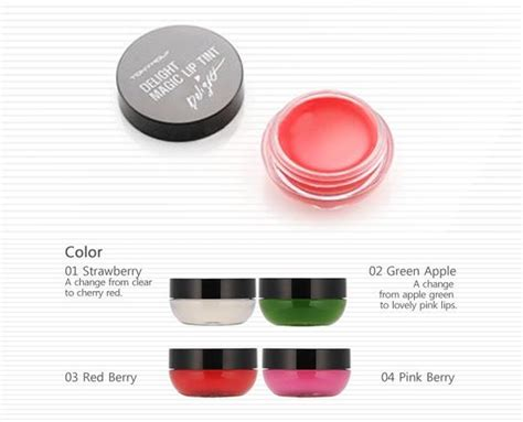 Jual Tony Moly Delight Magic Lip Tint tony moly magic lip tint delight 4 colours 9g korean