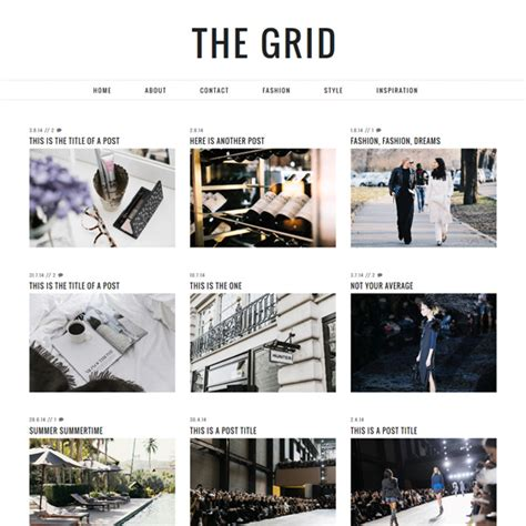 free blogger templates for graphic designers grid layout blogger template blogspot grid theme pipdig