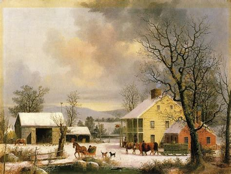 country paintings friday george henry durrie