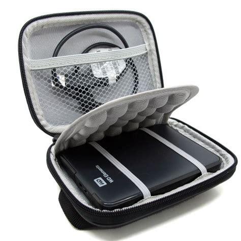 Tas Hardcase Pocket Digital Denim shock proof black carrying bag for 2 5 quot wd