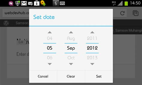 android datepicker html5 datepickers with a javascript fallback samson muhangi
