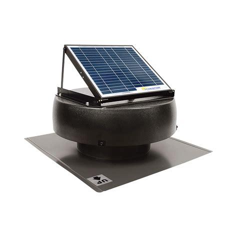 Product U S Sunlight Solar Powered Attic Fan 10w