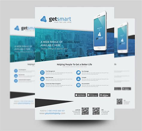 design flyer app 2017 modern 20 flyer designs for inspiration