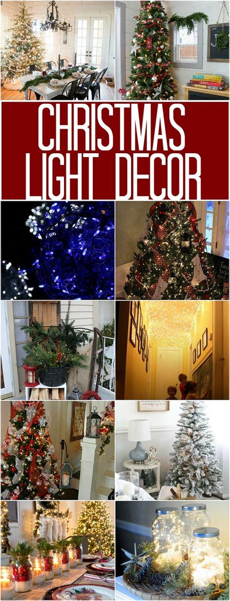 christmas light decor 100 days of homemade holiday