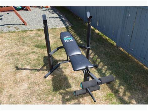 york bench press 7800 york bench press with leg lift saanich victoria