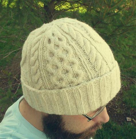 aran knit hats free patterns bulletproof aran hat pattern by chuck wright