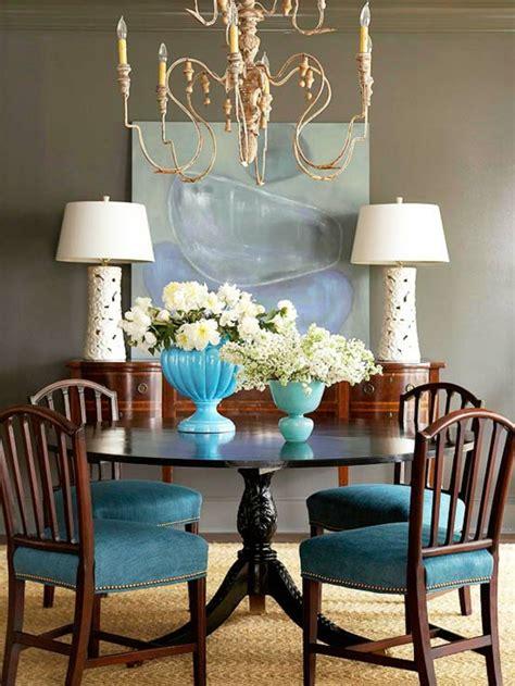 esszimmer kronleuchter mit schattierungen blaue farbpalette f 252 r das interior ihrer wohnung