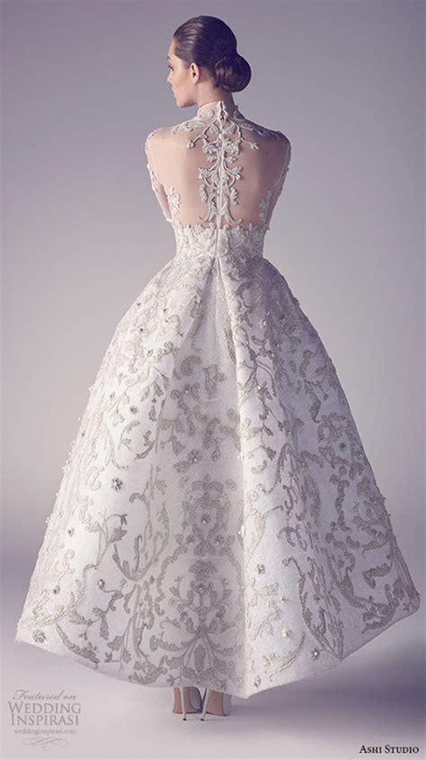 Dress Natusya Pink ashi studio couture 2015 collection wedding