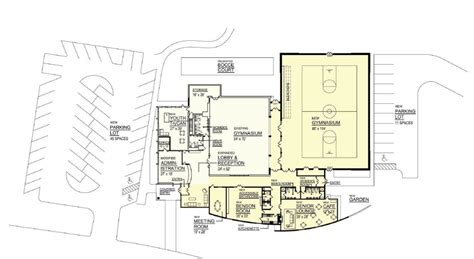 community center floor plan summit community center designs unveiled investors bank introduced as founding corporate