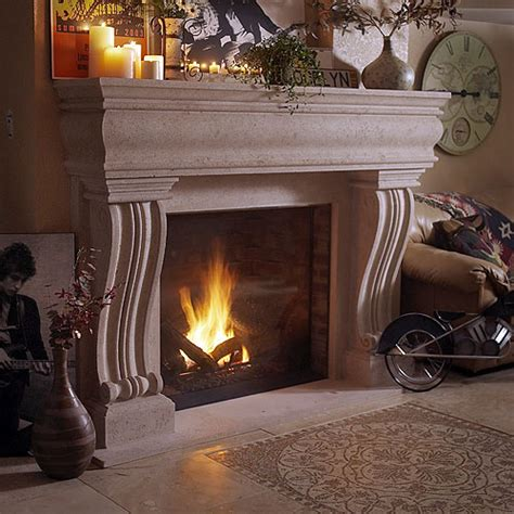 Cast Stone Fireplace Mantels   MantelsDirect.com