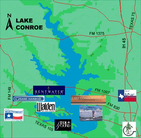 lake conroe texas map lake conroe lake conroe relocation montgomery texas