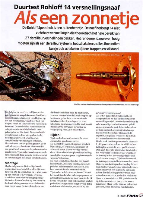 layout van een artikel ernie frieke bikeboosting mtb bike optimization