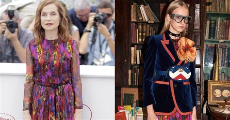 old movies happy end by isabelle huppert isabelle huppert in gucci at the happy end 70th cannes film festival photocall