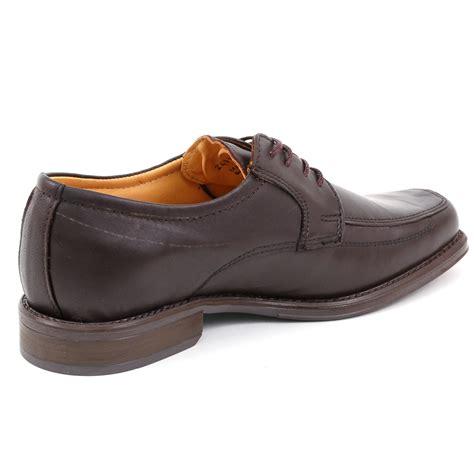 mens lace up oxfords dress shoes genuine leather moc toe giorgio brutini padded ebay