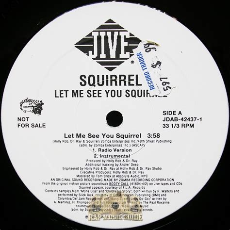 Let Me See You Do The Squirrel | squirrel let me see you squirrel 12 quot vinyl records