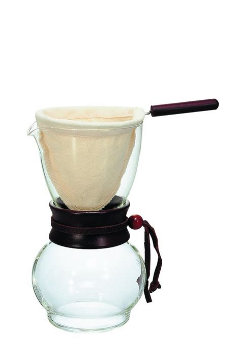 Gelas Coffee Drip hario glass drip coffee pot brewing maker steaming cup grounds