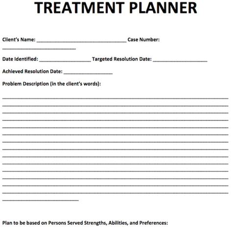 Treatment Planner Template Free Counseling Note Templates Pinterest Planner Template School Counseling Notes Template