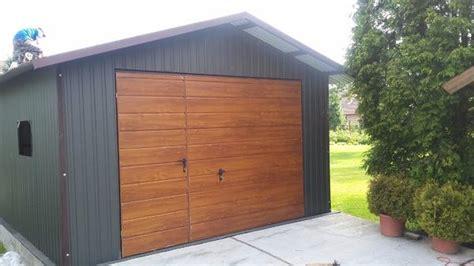 garagen doppelflügeltor blechgarage fertiggaragen metallgarage lager garage 4x6