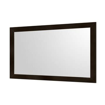 accara bathroom mirror 53 quot espresso free shipping