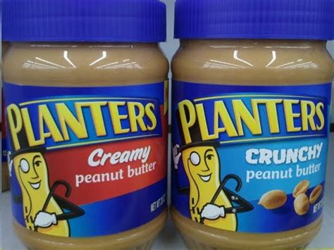 Who Owns Planters Peanuts by A New And Crunchy Peanut Butter From Planters Grocery