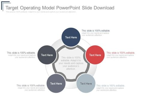 Target Operating Model Powerpoint Template Target Operating Model Diagram Electrical Wiring Diagram