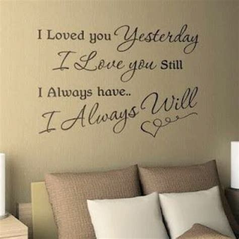bedroom wall quotes master bedroom wall quote bedroom decor pinterest