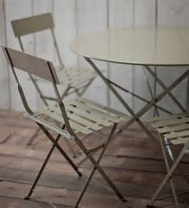 Large Bistro Table And Chairs Large Bistro Set Table 4 Chairs In Clay