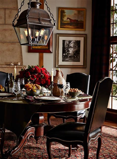home scene interiors setting the scene for fall entertaining with ralph lauren