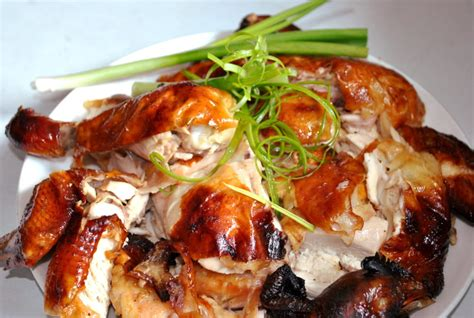 new year food cantonese roast chicken recipe style taste of asian food