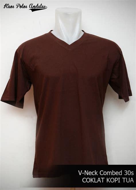 Baju Kaos Polos Cotton Combed 30s Murah grosir kaos polos vneck bahan cotton combed 30s grosir