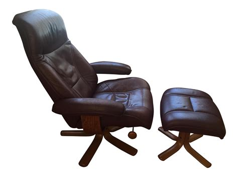 Reclining Chair And Ottoman by Hjellegjerde Mobler Reclining Lounge Chair And Ottoman