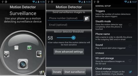 best motion app best free motion detector apps with motion sensor