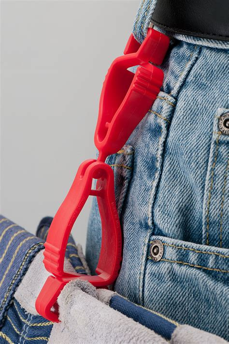 the handi klip 174 glove clip with its and socket breakaway feature is the lower cost