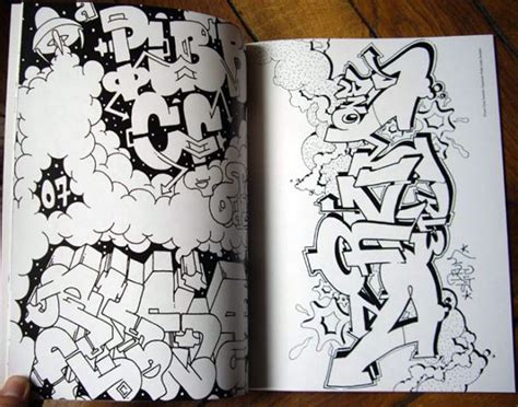 libro graffiti cookbook a graffiti coloring book es un libro de graffitis para colorear con